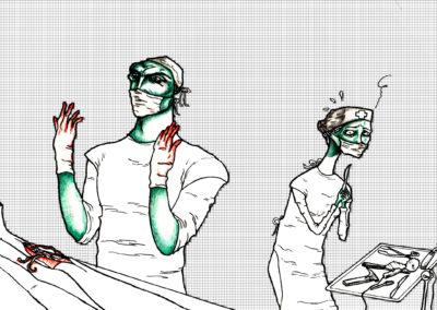 Pánico en el quirófano